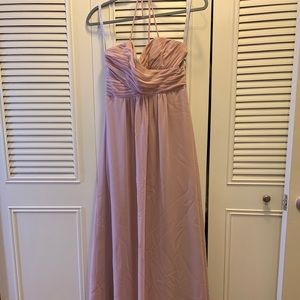 Alfred Angelo blush bridesmaid dress size 2